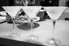 La vainilla hecha en casa especial del cóctel condimentó imagen de archivo