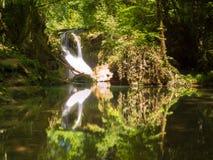 La Vaioaga nel parco nazionale di Cheile Nerei - Romania Fotografia Stock