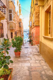 La Valeta - capital de Malta Fotos de archivo libres de regalías