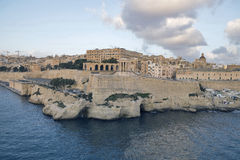 La Valeta - la capital de Malta Imagenes de archivo