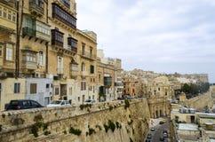 La Valetta. A cityview of La Valetta, Malta Stock Image