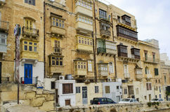 La Valetta. A cityview of La Valetta, Malta Royalty Free Stock Image