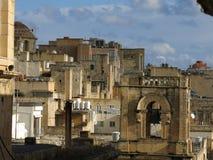 La Valette à Malte image libre de droits