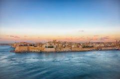 La Valette, capitale de Malte Photos libres de droits