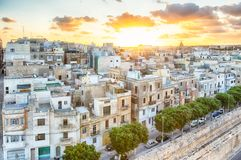 La Valette, capitale de Malte Photographie stock