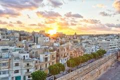 La Valette, capitale de Malte Photo libre de droits