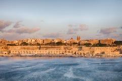 La Valette, capitale de Malte Image libre de droits