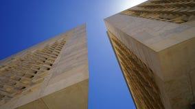La Valette, Malte - le nouveau Parlement Image libre de droits