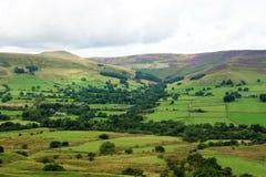 La vallée d'Edale Image stock