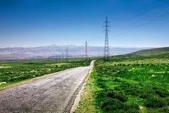 La vallée de la Bekaa scénique au Liban Image libre de droits
