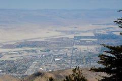 La vallée de Coachella donnent sur Photos libres de droits