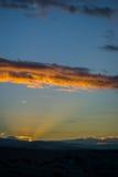 La vallée de Coachella, la Californie Photos libres de droits