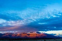 La vallée de Coachella, la Californie Image libre de droits