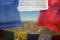 La vallée de Katmandou Photo libre de droits