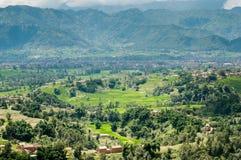 La vallée de Katmandou Images stock