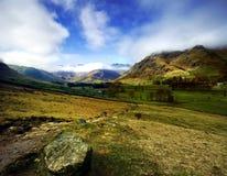 La vallée de Langdale photo stock