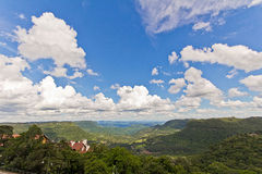 La vallée de Quilombo, Rio Grande font Sul, Brésil Photo stock