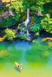 La vallée de la rivière du Tarn, canyon français photo libre de droits