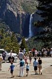 La vallée de Yosemite donnent sur 4 Images libres de droits