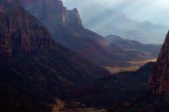 La vallée du ciel Image stock