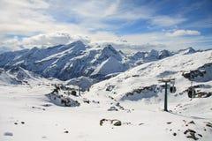La valle d'Aosta Immagine Stock Libera da Diritti