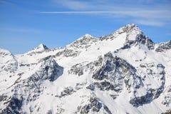 La valle d'Aosta Immagine Stock