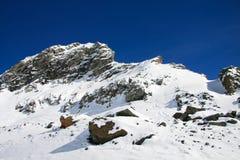 La valle d'Aosta Fotografia Stock Libera da Diritti