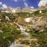 La valle dei ecrins le alpi francesi Immagini Stock Libere da Diritti