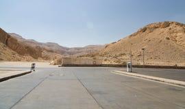 La valle dei re nell'Egitto Fotografia Stock Libera da Diritti