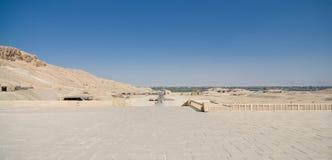 La valle dei re nell'Egitto Immagine Stock