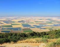 La valle del Galilee. Foto dal supporto Barkan Immagine Stock