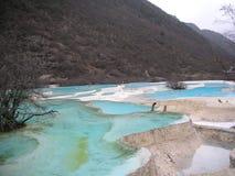 La valle del Jiuzhaigou Immagini Stock Libere da Diritti