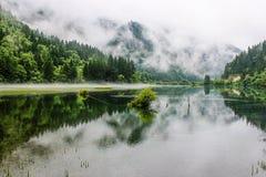 La valle del Jiuzhaigou fotografia stock