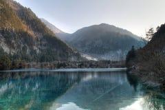 La valle del Jiuzhaigou scenica Fotografia Stock Libera da Diritti