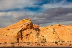 La valle del parco di stato del fuoco, U.S.A. Immagine Stock Libera da Diritti