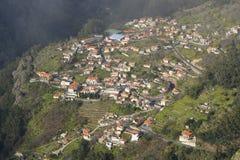 La valle della suora in Madera, Portogallo Fotografie Stock