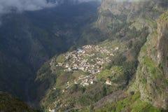 La valle della suora in Madera, Portogallo Immagine Stock Libera da Diritti