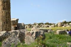 La valle delle tempie di Agrigento - l'Italia 022 Fotografie Stock Libere da Diritti