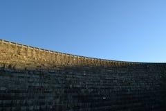 La valle di Barragem fa il estrela di Serra da del rossim Immagine Stock Libera da Diritti