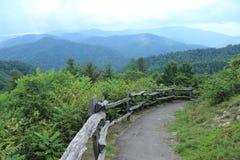 La valle di Cataloochee trascura la Nord Carolina Fotografia Stock Libera da Diritti