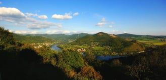 La valle di Elba immagini stock