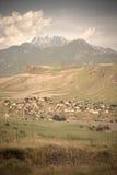 La valle di Fann Mountains (anche conosciuta come il Fanns) fa parte Fotografie Stock Libere da Diritti