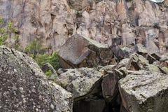La valle di Ihlara Cappadocia - in Turchia Immagine Stock