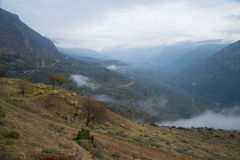 La valle di Parnassus Fotografia Stock