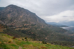 La valle di Parnassus immagini stock