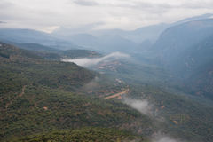 La valle di Parnassus fotografie stock libere da diritti