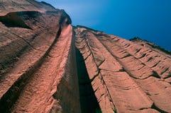 La valle di Talampaya a San Juan, Argentina Fotografie Stock Libere da Diritti