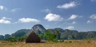 La valle di Vinales, Cuba Fotografia Stock