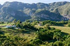 La valle di Vinales su Cuba Immagine Stock Libera da Diritti