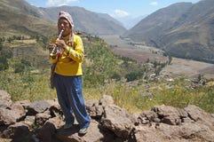 La valle sacra dei Incas, Perù Fotografie Stock Libere da Diritti